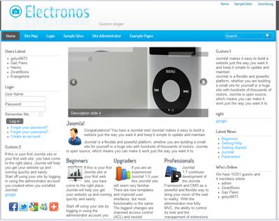 eCommerce Electronics